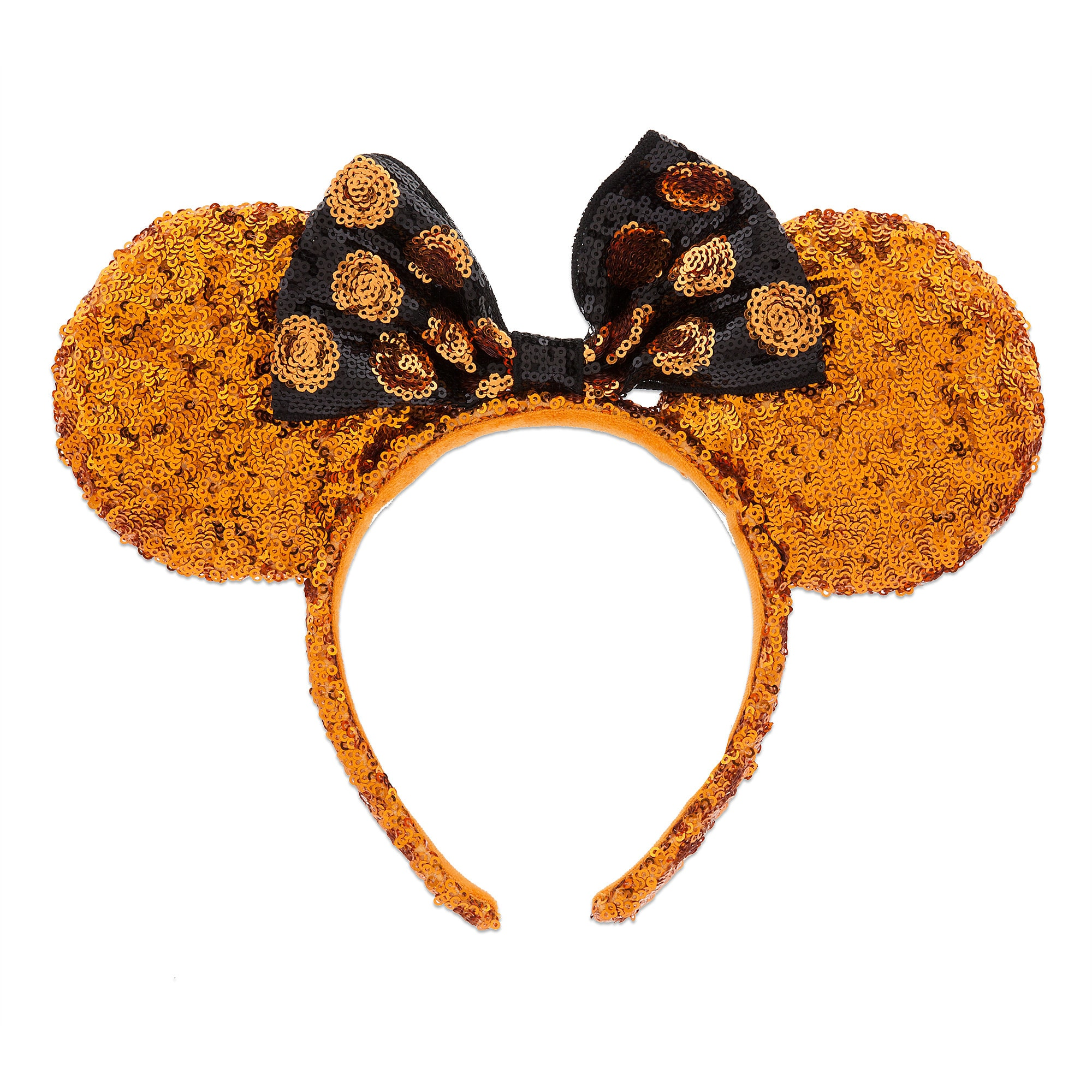 Minnie Mouse Halloween Ears Sequined Headband