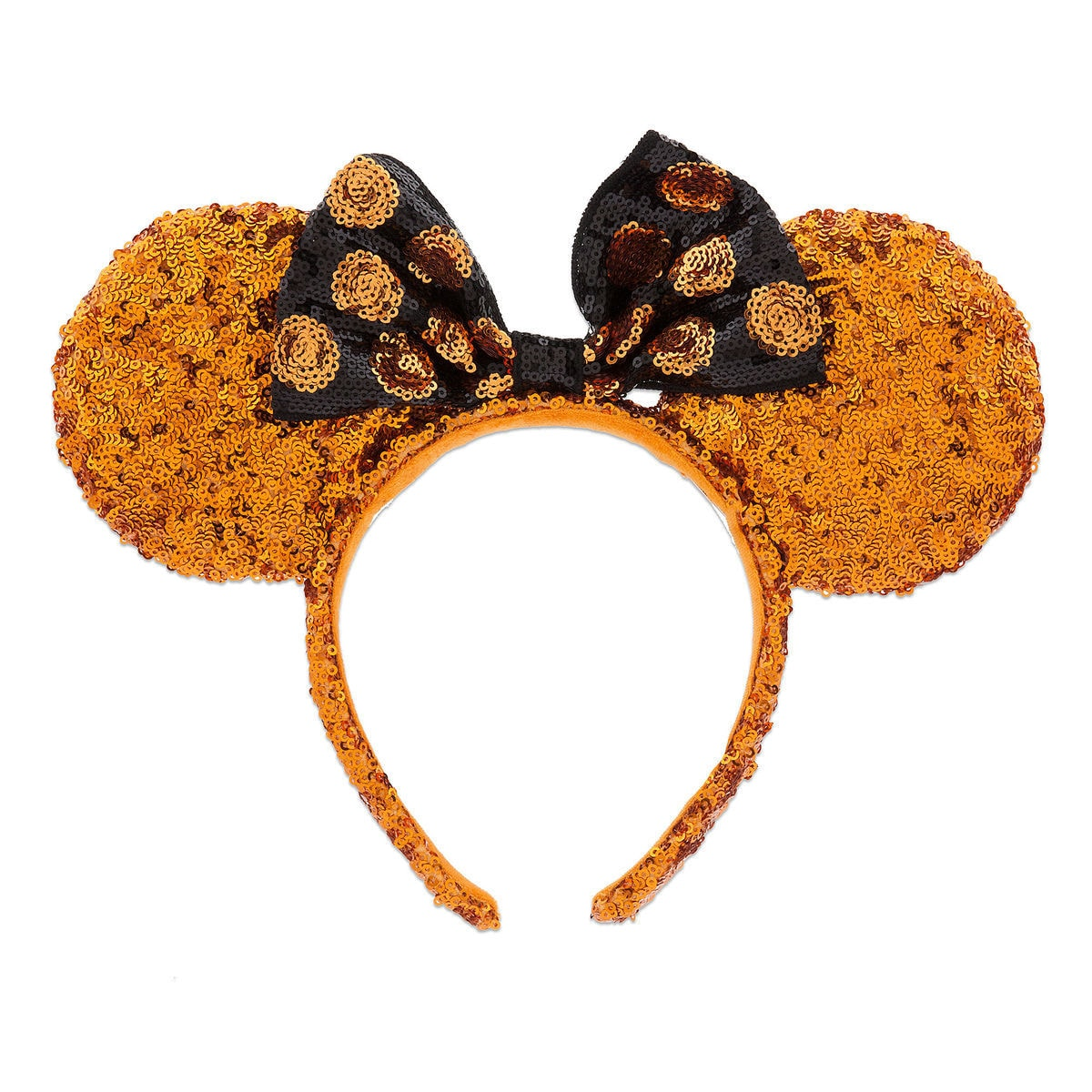 product image of minnie mouse halloween ears sequined headband 1