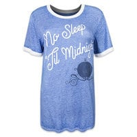 Cinderella Ringer Tee for Women by Disney Boutique