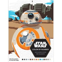Star Wars Color By Numbers Book