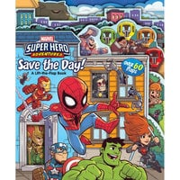Marvel Save the Day! Lift-the-Flap Book