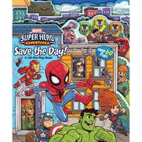 Image of Marvel Save the Day! Lift-the-Flap Book # 1