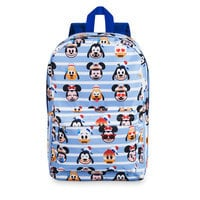 Image of Mickey Mouse and Friends Emoji Backpack - Disney Cruise Line # 1