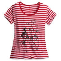 Mickey and Minnie Mouse Tee for Women - Disney Cruise Line
