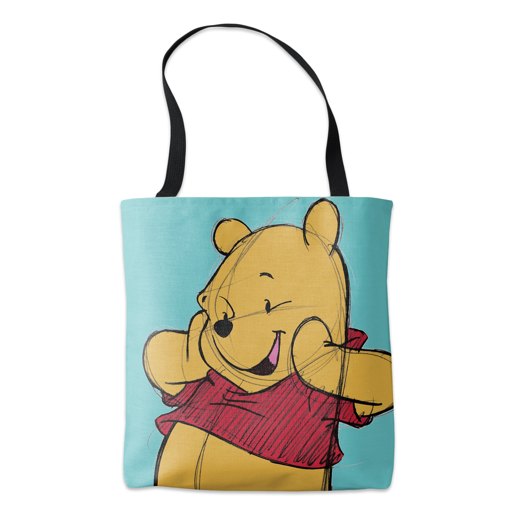 Winnie the Pooh Sketch Tote - Customizable