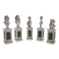 Image of The Haunted Mansion Pillar Bust Set # 1