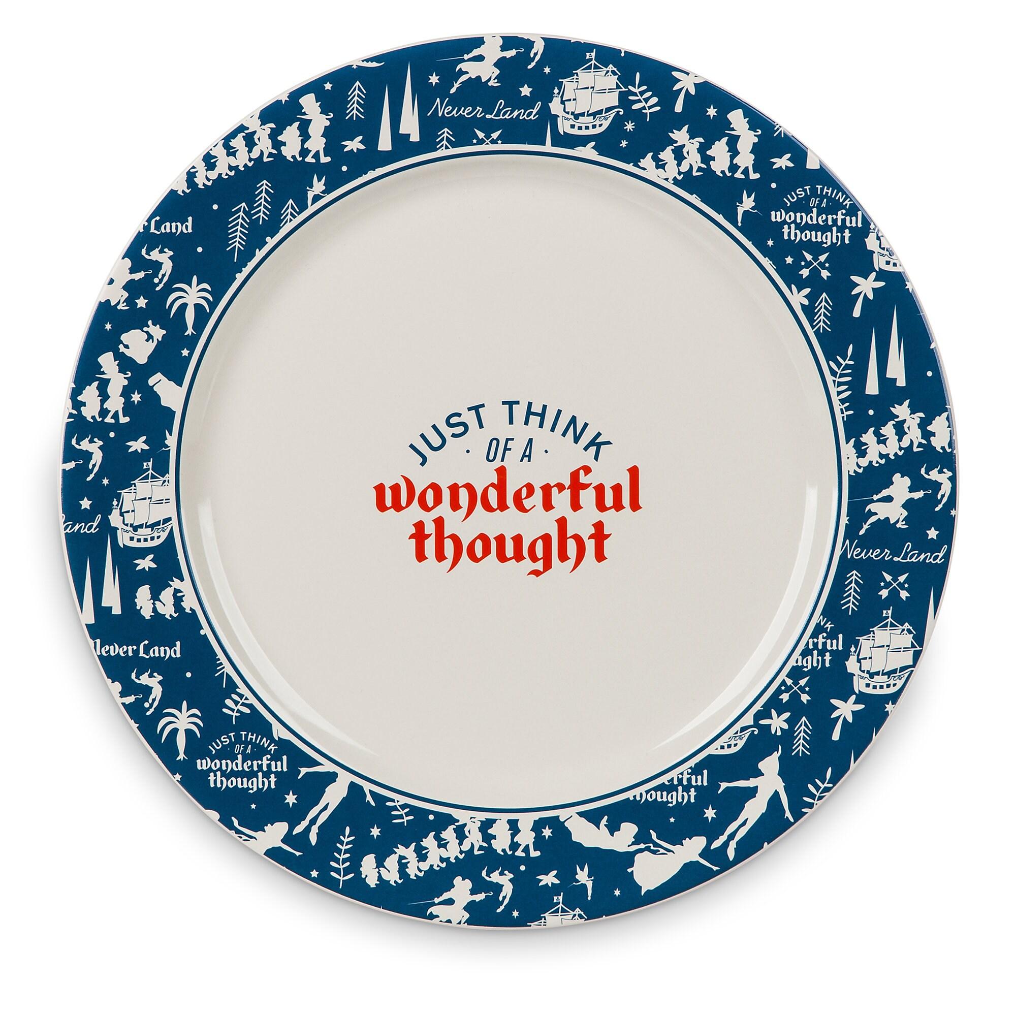 Never Land Dinner Plate - Peter Pan