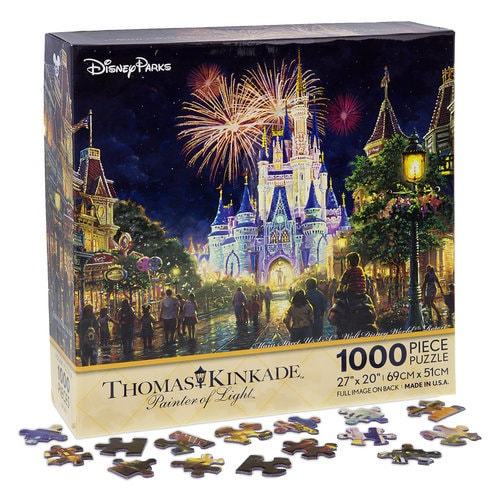 Main Street Usa Walt Disney World Resort Puzzle By Thomas