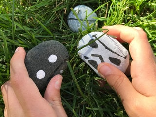 The Time to Paint These Star Wars Rocks is Now