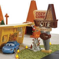 Image of Cars Cozy Cone Collector Playset by Mattel # 3