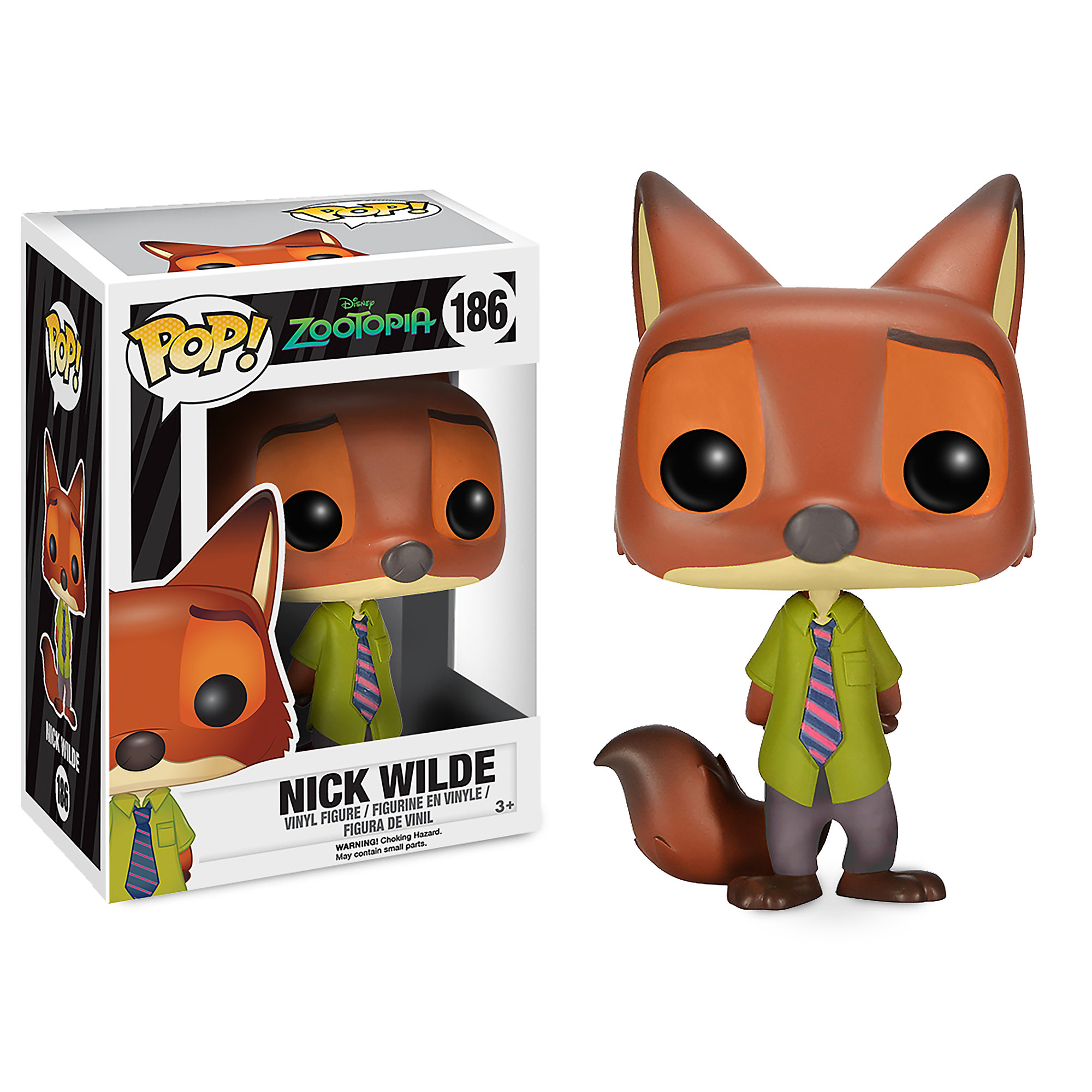 Nick Wilde Pop! Vinyl Figure by Funko