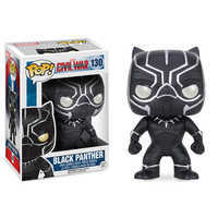 Image of Black Panther Pop! Vinyl Bobble-Head Figure by Funko # 1