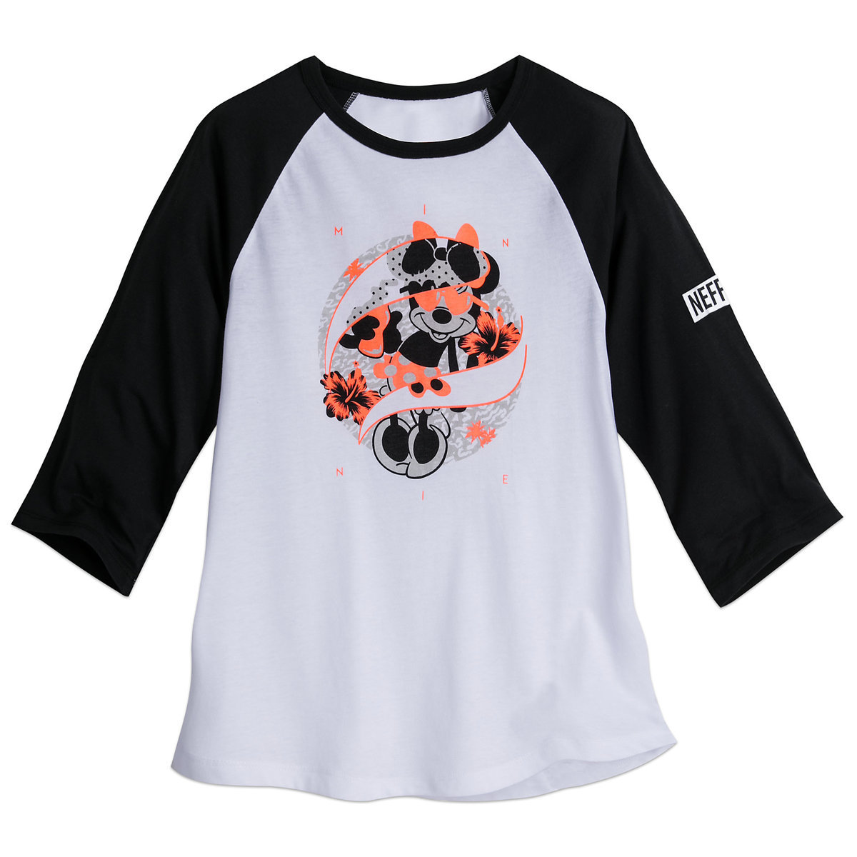 a4a2e97b0dec7a Product Image of Minnie Mouse Raglan T-Shirt for Women by Neff   1