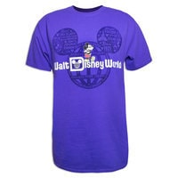 Mickey Mouse Walt Disney World Tee for Adults - Purple