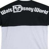 Walt Disney World Mesh Spirit Jersey for Adults - Black and White