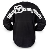 Walt Disney World Long Sleeve Spirit T-Shirt for Women - Black