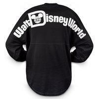 Image of Walt Disney World Long Sleeve Spirit T-Shirt for Women - Black # 1