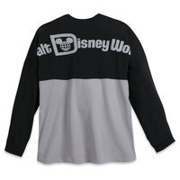 Walt Disney World Spirit Jersey for Adults - Black and Gray
