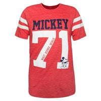 Mickey Mouse ''71'' Jersey T-Shirt for Adults - Walt Disney World