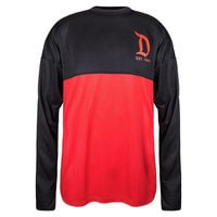Disneyland Mesh Spirit Jersey for Adults - Black and Red
