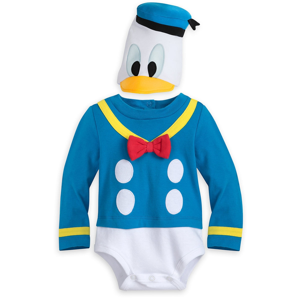 donald duck costume bodysuit for baby shopdisney