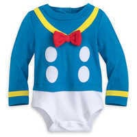 Image of Donald Duck Costume Bodysuit for Baby # 3
