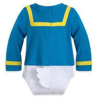 Image of Donald Duck Costume Bodysuit for Baby # 5
