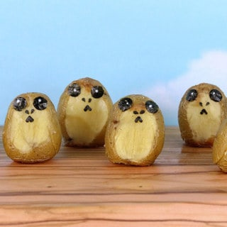 Here is a Recipe for Porg Potatoes. Because Porgs.