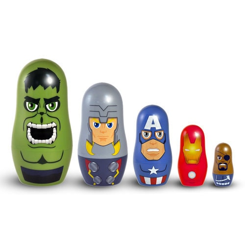 The Avengers Nesting Doll Set