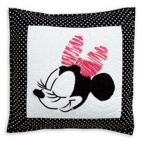 Minnie Mouse Mad About Minnie Pillow by Ethan Allen