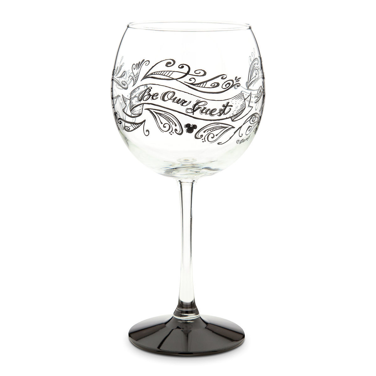 Be Our Guest Stemmed Wine Glass - 18 oz. | shopDisney