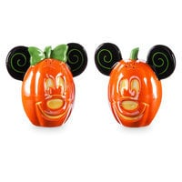 Mickey and Minnie Mouse Halloween Salt & Pepper Set