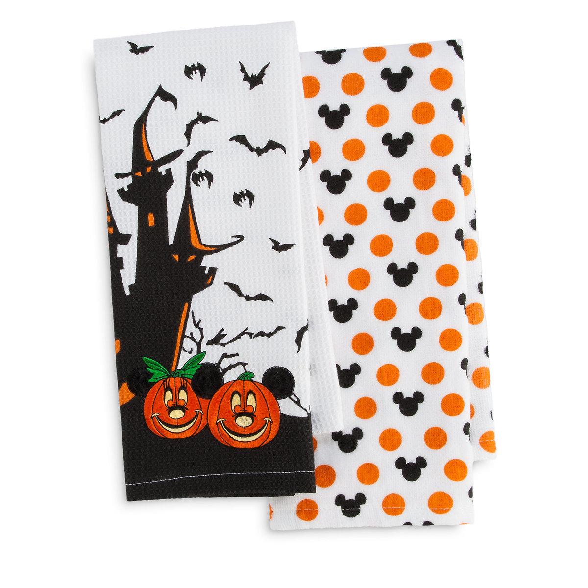 Mickey and Minnie Mouse Halloween Kitchen Towel Set | shopDisney