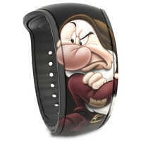 Image of Grumpy MagicBand 2 - Snow White and the Seven Dwarfs # 1