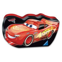 Image of Lightning McQueen and Jackson Storm Puzzle by Ravensburger # 1
