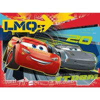 Image of Lightning McQueen and Jackson Storm Puzzle by Ravensburger # 2