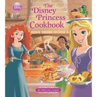 Image of The Disney Princess Cookbook # 1