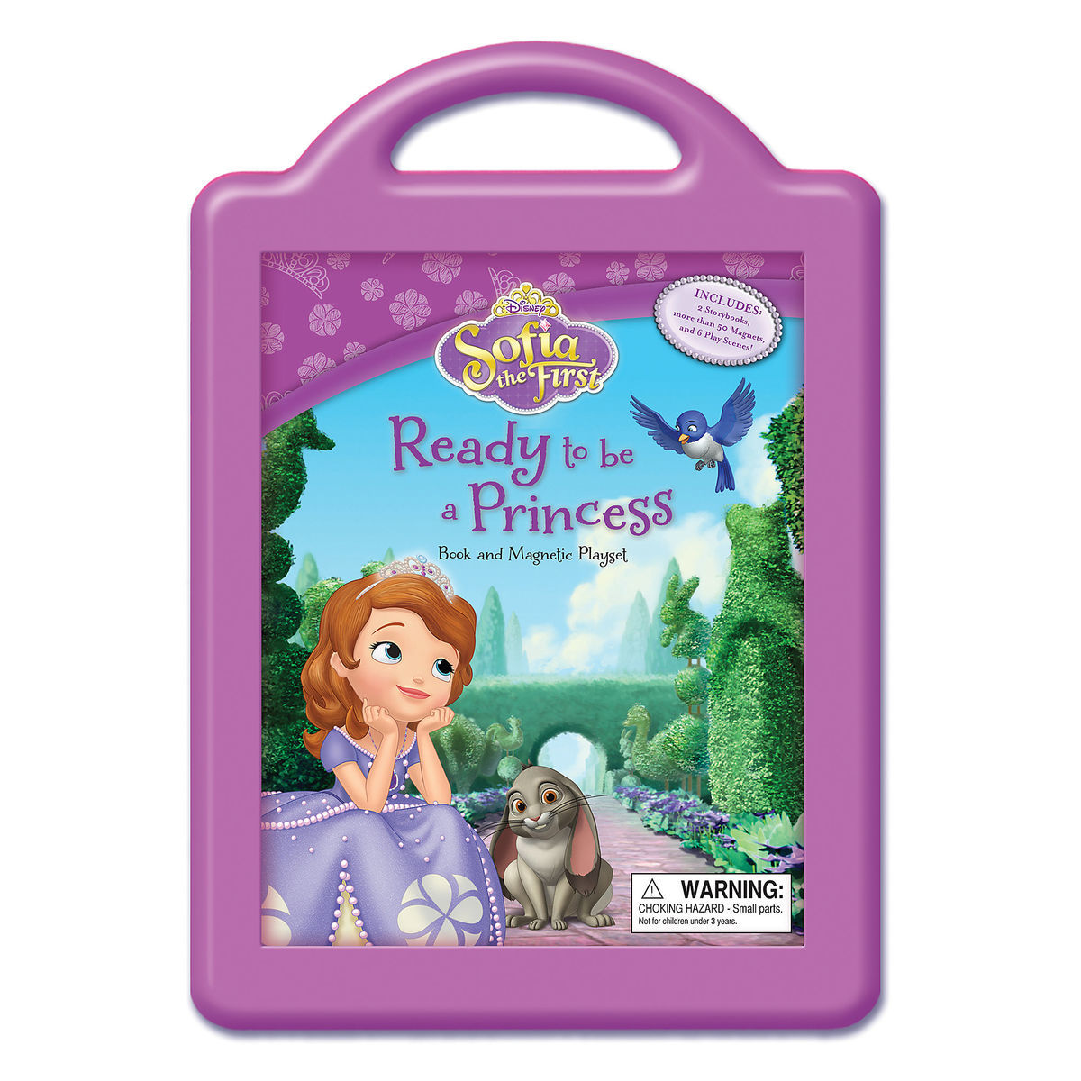 Product Image of Sofia the First  Ready to Be a Princess Book and Magnetic  Playset b57564cea