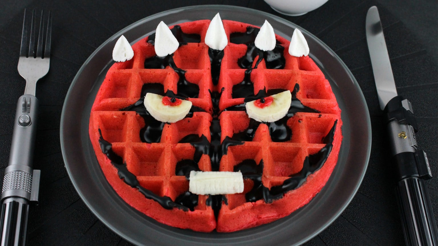 Darth Maul-ffles Will Make Your Breakfast Dark-Side-Delicious