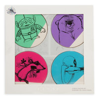 Pixar Animation Studio Series Coaster Set