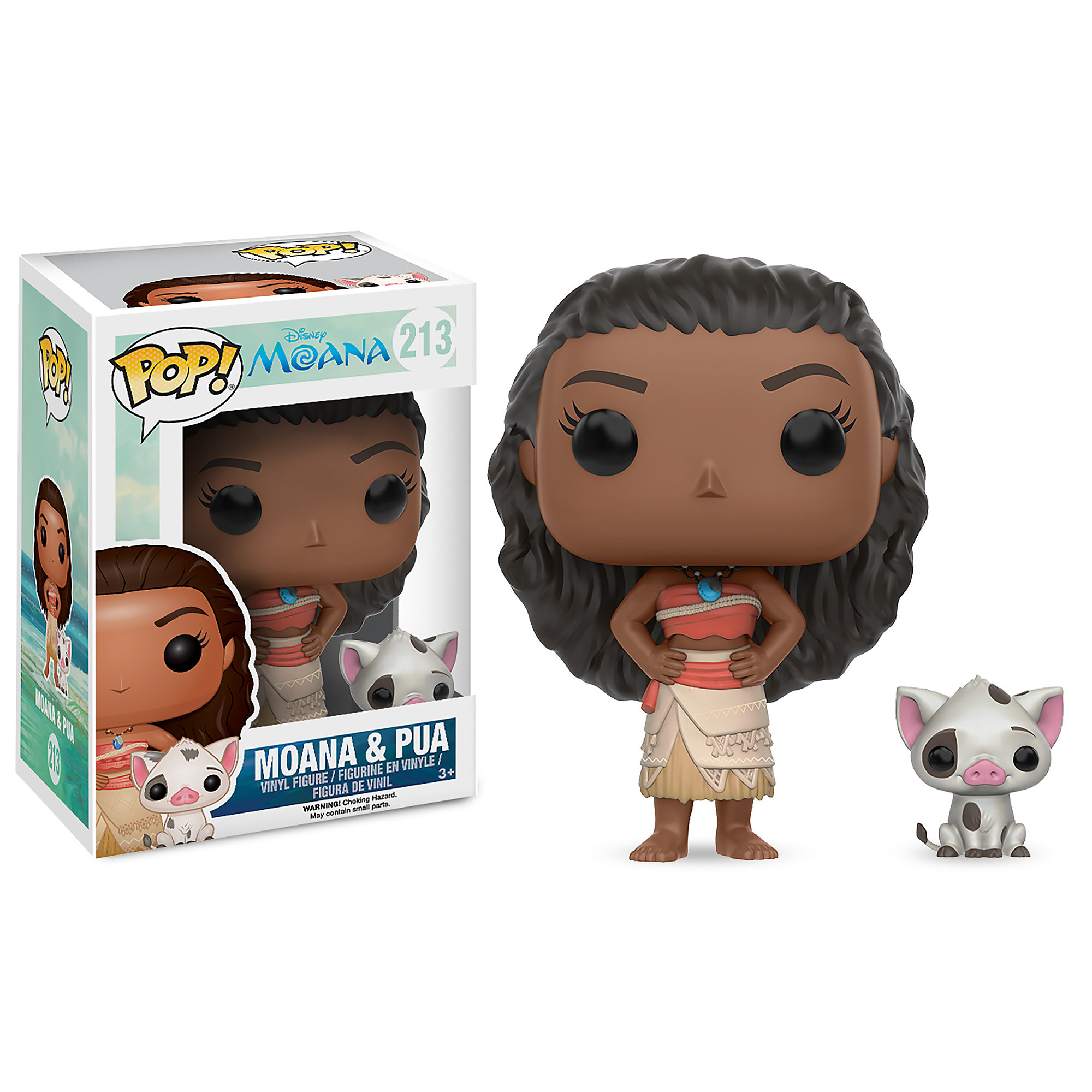 Moana & Pua Pop! Vinyl Figure Set by Funko