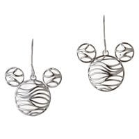 Mickey Mouse Wave Icon Earrings by Rebecca Hook