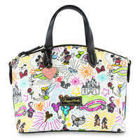 Image of Disney Sketch Nylon Zip Satchel by Dooney & Bourke # 1