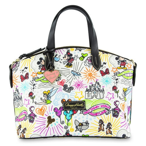 Disney Sketch Crossbody Bag by Dooney & Bourke. shopDisney® Black Friday Is On | 's of Items On Sale! Carry happy memories with this crossbody bag by Dooney & Bourke.A host of Disney characters and icons decorate this fine fashion bag, which comes to you from the Parks and the designer label you love. more.