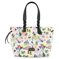Disney Sketch Nylon Shopper by Dooney & Bourke