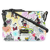 Image of Disney Sketch Nylon Crossbody Bag by Dooney & Bourke # 1