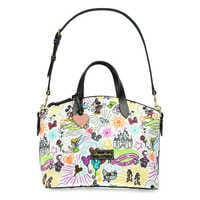 Image of Disney Sketch Nylon Zip Satchel by Dooney & Bourke # 2