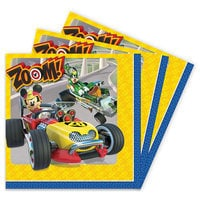 Mickey Mouse Roadster Racers Lunch Napkins