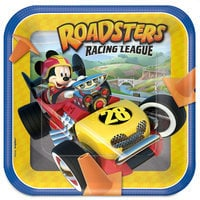 Mickey Mouse Roadster Racers Lunch Plates