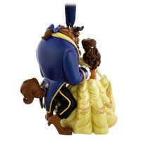 Image of Beauty and the Beast Figural Ornament # 2